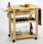 Winsome Wood Kitchen Cart | Portable Rolling Storage Island