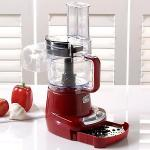 Wolfgang Puck Food Processor | Continuous Flow 4 Cup w/ Blade Set