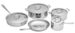 All-Clad Kitchen Cookware Set