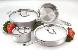 All-Clad Master Chef Cookware Set