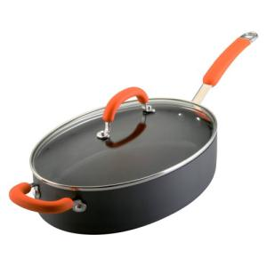 Rachael Ray Orange Oval Saute Pan