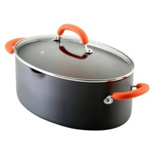 Rachael Ray Orange Oval Pasta Pot