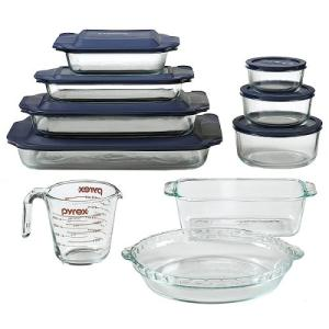 Pyrex Clear Glass Bakeware