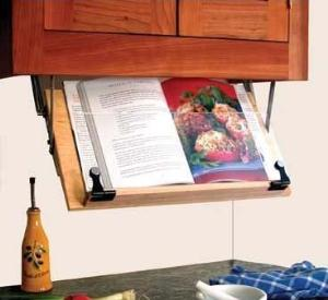 Clear Solutions Cookbook Holder