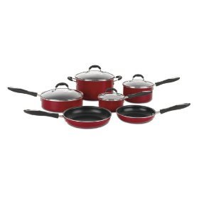 Cuisinart Advantage Red Cookware Set