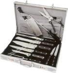 Berghoff Lagos Chef Knife Set | Professional 12 Piece Stainless Steel Full Tang