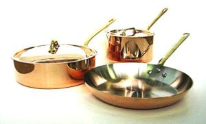 Mauviel Cuprinox Pour La Table Cookware