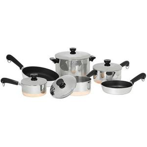 Revere Copper Clad Cookware Set