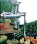 Hurricane Stainless Steel Manual Juicer | Wheat Grass Hand Press