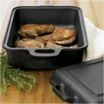 Emerilware 5 in 1 Smoker | Cast Iron Pre-Seasoned Grill w/ Wood Chips