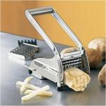 Chefs Stainless Steel French Fry Cutter | Vegetable Potato Slicer
