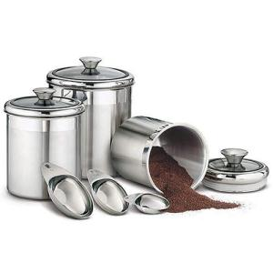 Tramontina Stainless Steel Canister Set