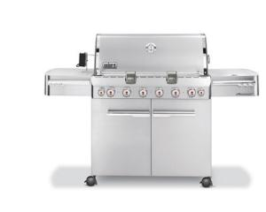 Weber Summit Stainless Steel BBQ Grill