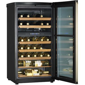 Haier 40 Bottle Dual Zone Wine Cellar