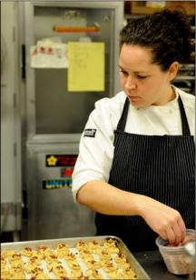 Stephanie Izard 2009 chicago ball