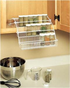 Rubbermaid Pull Down Wire Spice Rack