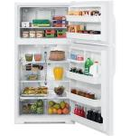 GE Freestanding Refrigerator w/ Top Freezer | White GTS21KBXWW | Energy Efficient