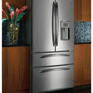 G.E. Profile Refrigerator w/ 2 Bottom
