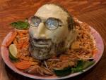 Steve Jobs Cheese Head